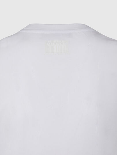 Diesel - T-SILY-E53, Bianco - T-Shirts - Image 4