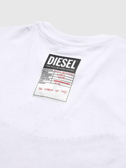 Diesel - TNICOLE, Bianco - T-shirts e Tops - Image 4