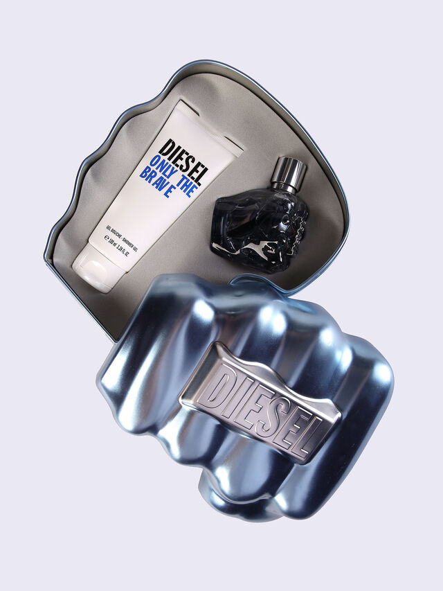 Diesel ONLY THE BRAVE 50ML METAL GIFT SET, Blu - Only The Brave - Image 1