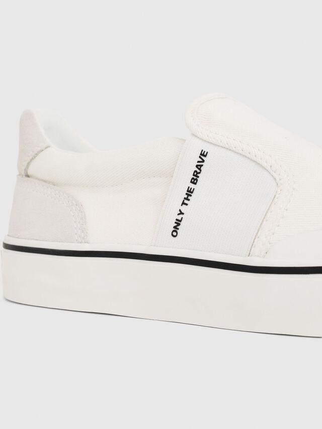 Diesel - S-FLIP SO, Bianco - Sneakers - Image 4