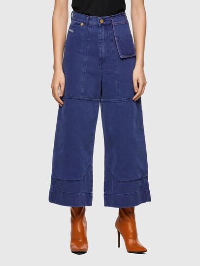 Diesel - D-Luite 0EEAX, Blu medio - Jeans - Image 1