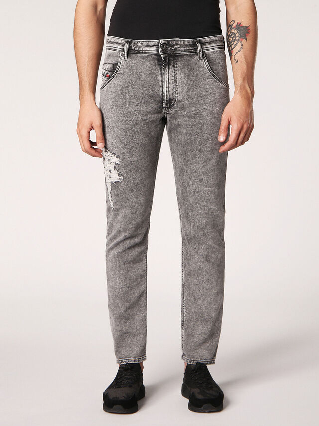 KROOLEY-T JOGGJEANS 0689D, Grigio Jeans