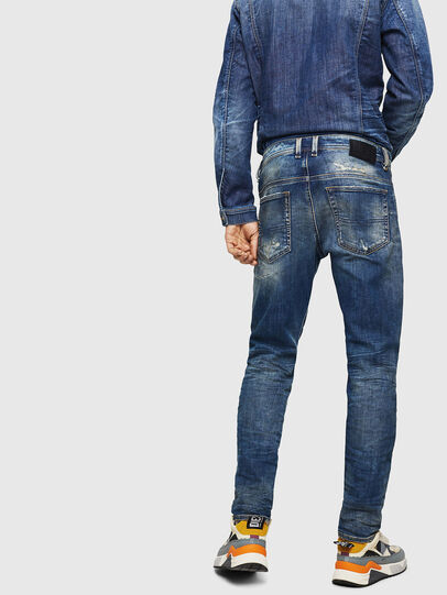 Diesel - Thommer JoggJeans 0870Q, Blu medio - Jeans - Image 2