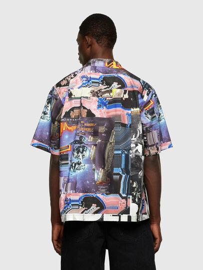Diesel - S-DOOMY, Blu/Rosa - Camicie - Image 2