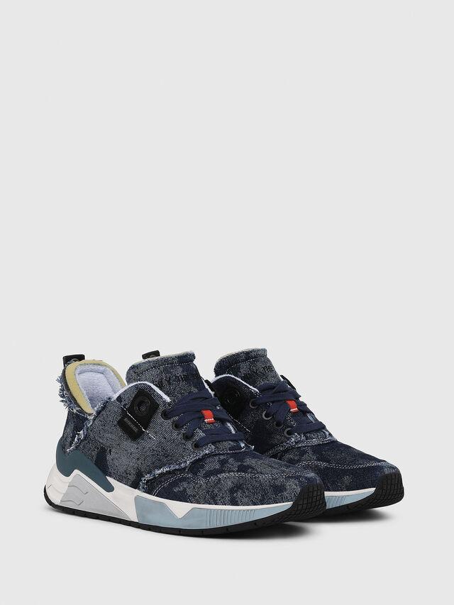 Diesel - S-BRENTHA LC, Blu Jeans - Sneakers - Image 2