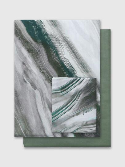 Diesel - 2003985 CLET WATER R, Grigio/Verde - Set Copripiumino - Image 1