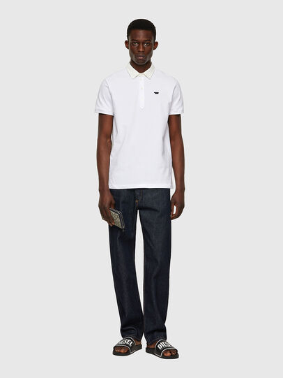 Diesel - T-MILES-NEW, Bianco - Polo - Image 4
