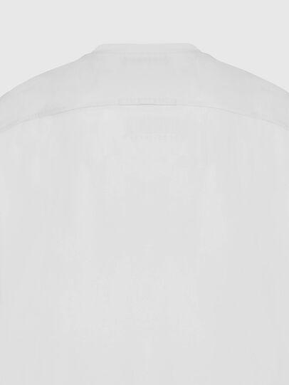 Diesel - T-TASK-SLITS, Bianco - T-Shirts - Image 4