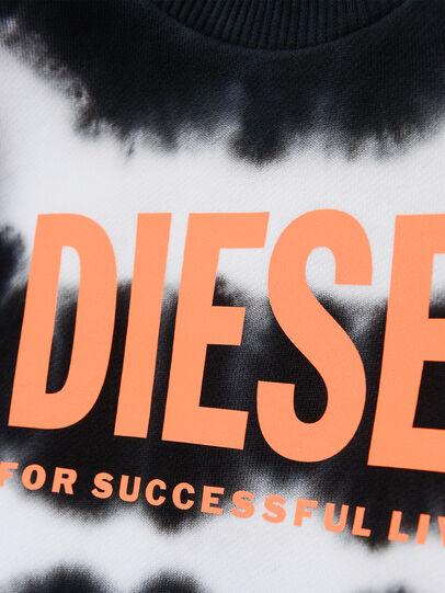 Diesel - SOBEZB, Nero/Bianco - Felpe - Image 3