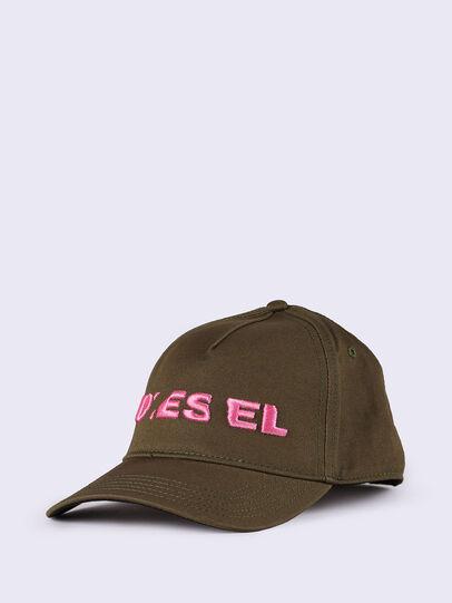 Diesel - CIDIES, Verde Militare - Cappelli - Image 4