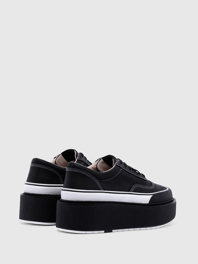 Diesel - H-SCIROCCO LOW, Nero/Bianco - Sneakers - Image 3