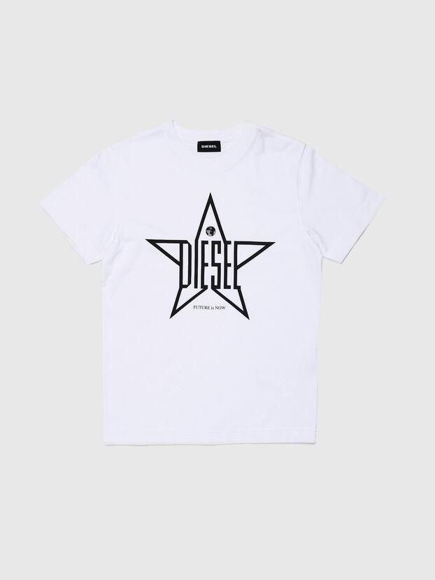 TDIEGOYH, Bianco - T-shirts e Tops