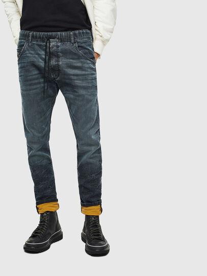 Diesel - Krooley JoggJeans 069MD, Blu Scuro - Jeans - Image 3