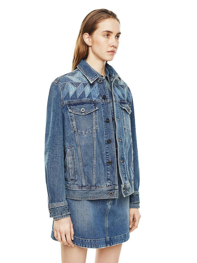 Diesel - WONDERY, Blu Jeans - Giacche - Image 5