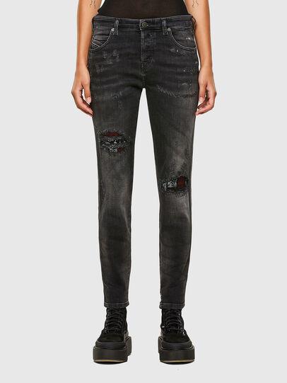 Diesel - Babhila 009JN, Nero/Grigio scuro - Jeans - Image 1