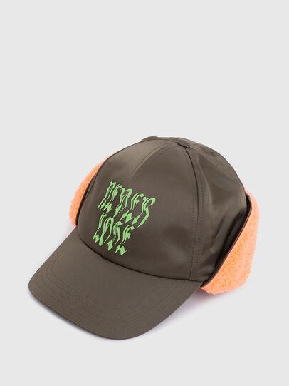 Diesel - CIFUR, Verde Militare - Cappelli - Image 3