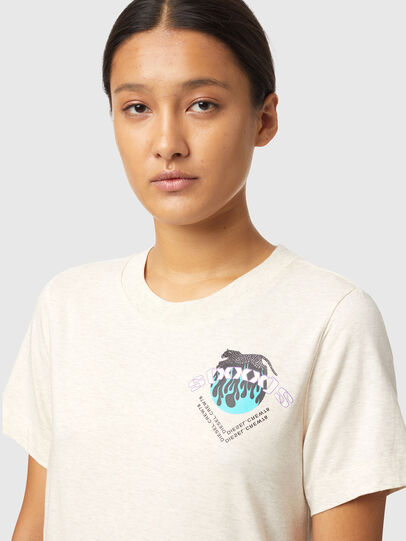 Diesel - T-LILLY-B1, Bianco - T-Shirts - Image 3