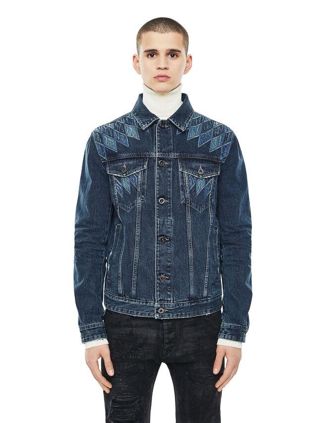 Diesel - JONDER, Blu Jeans - Giacche - Image 1