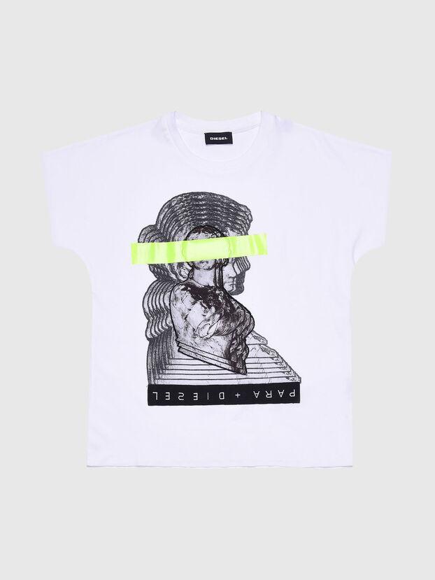 TSOLARIX MC, Bianco - T-shirts e Tops