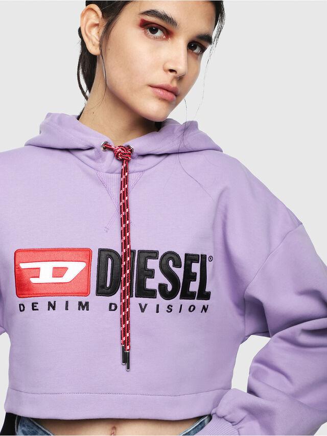 Diesel - F-DINIE-A, Lilla - Felpe - Image 3