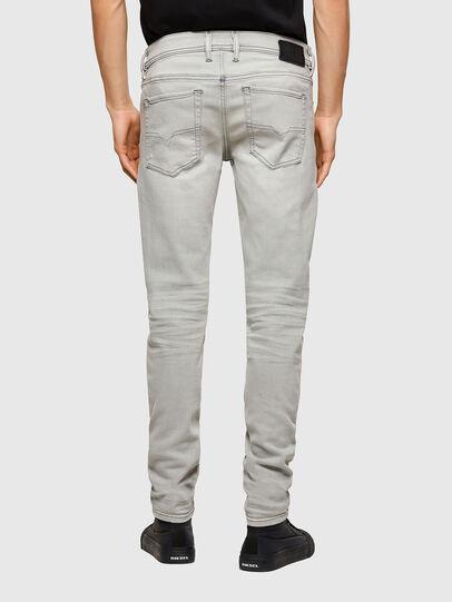 Diesel - Sleenker 009PY, Grigio Chiaro - Jeans - Image 2