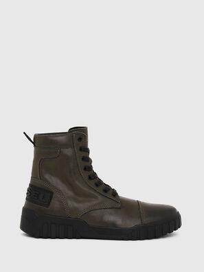 H-RUA AM, Verde Militare - Sneakers