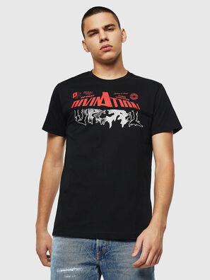 T-DIEGO-B12, Nero - T-Shirts