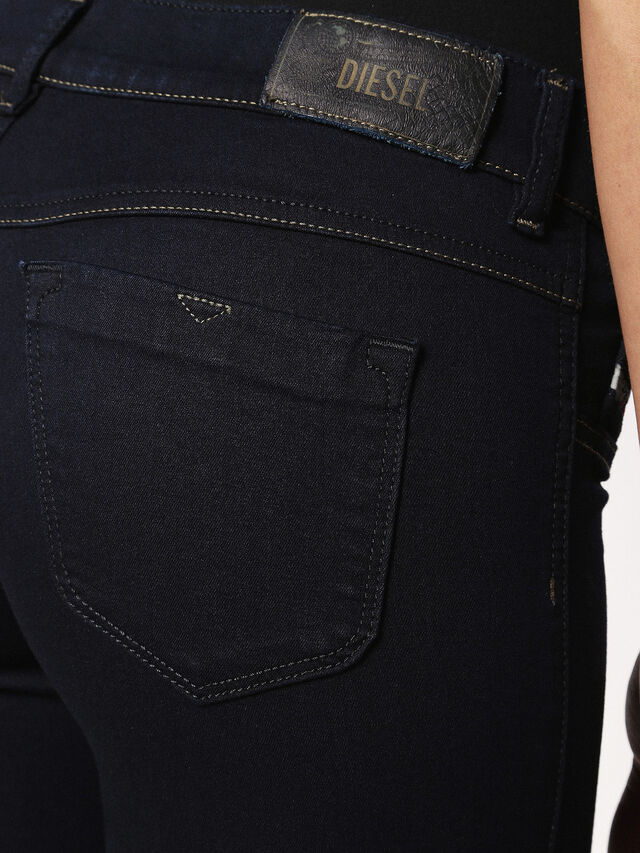 LIVIER 0881B, Nero Jeans