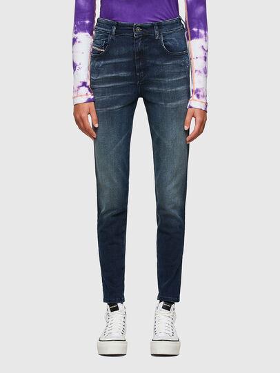 Diesel - Slandy High 009JH, Blu Scuro - Jeans - Image 1