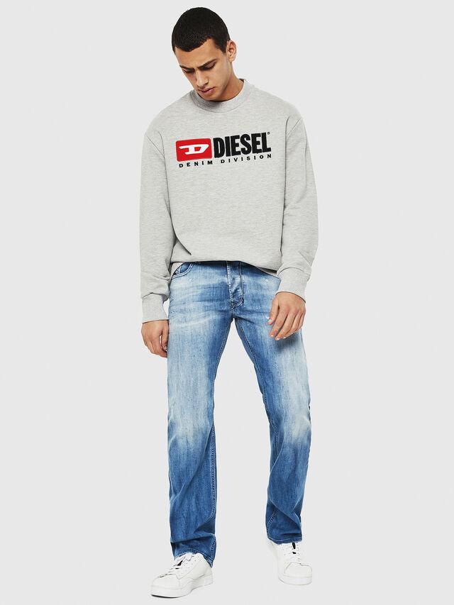 Diesel - Larkee 081AS, Blu Chiaro - Jeans - Image 5