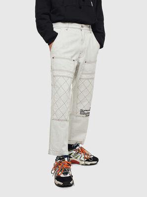 D-FRAK, Bianco - Pantaloni