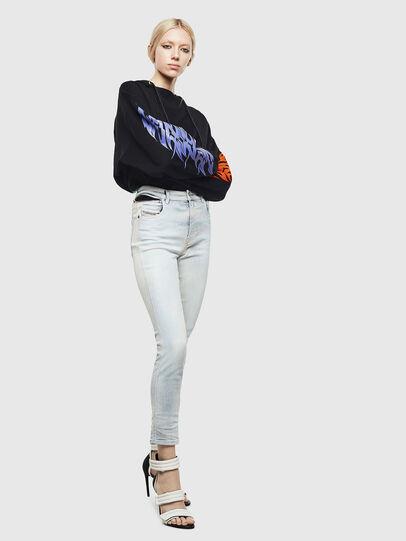 Diesel - Babhila High 009AX, Blu Chiaro - Jeans - Image 7