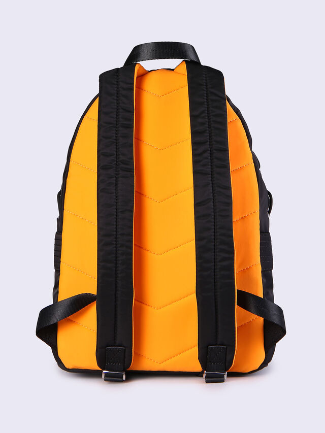 F-SUPERPASS BACK, Nero/Arancio Fluo