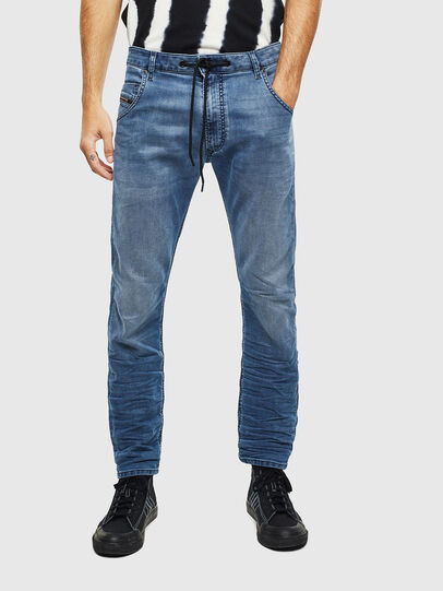 Diesel - Krooley JoggJeans 069MA, Blu medio - Jeans - Image 3