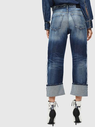 Diesel - D-Reggy 0096S, Blu medio - Jeans - Image 2