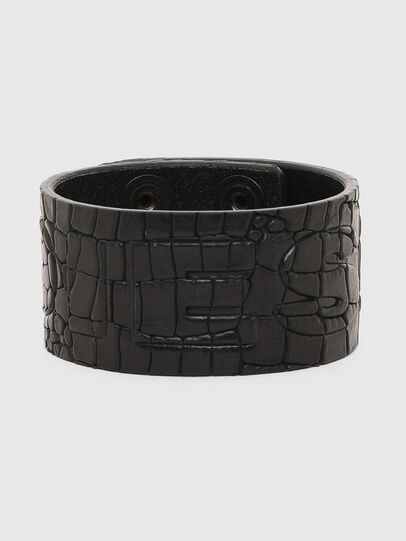 Diesel - A-CROCLE, Nero - Bijoux e Gadget - Image 1