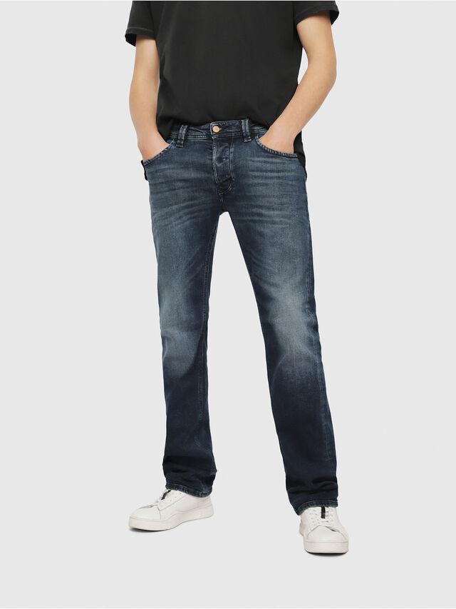 Diesel - Larkee 087AS, Blu Scuro - Jeans - Image 1