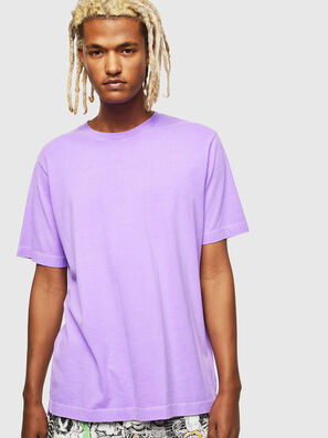 T-JUST-SLITS-FLUO, Lilla - T-Shirts