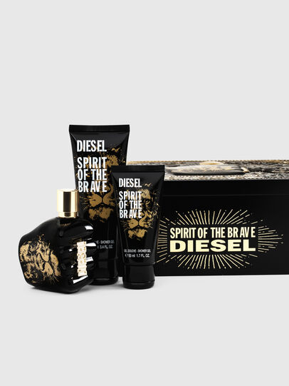 Diesel - SPIRIT OF THE BRAVE 75ML METAL GIFT SET, Nero - Only The Brave - Image 1