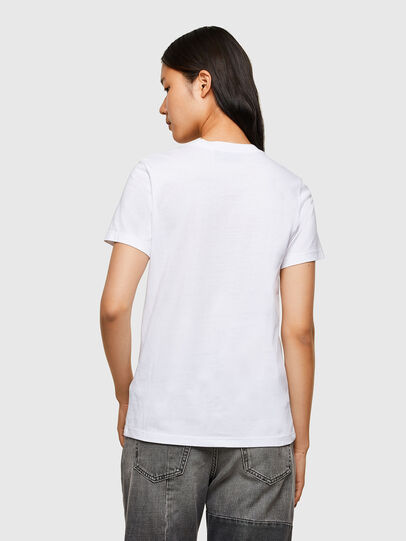 Diesel - T-SILY-R5, Bianco - T-Shirts - Image 2
