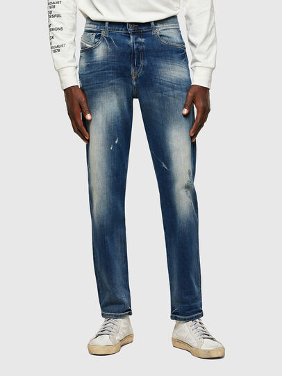 Diesel - D-Fining 009RS, Blu Scuro - Jeans - Image 1