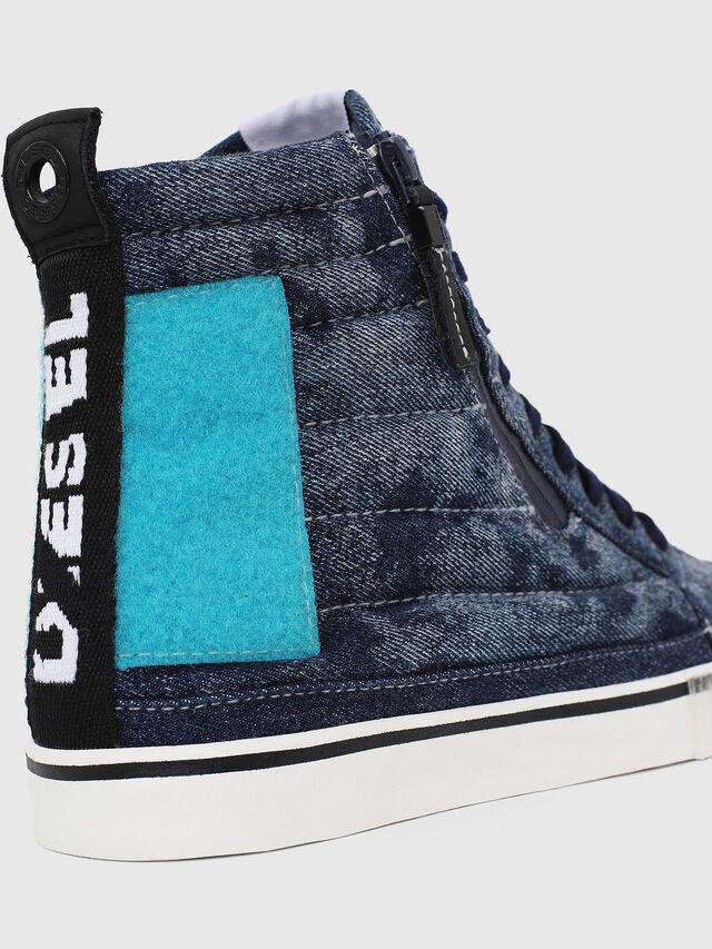 Diesel - D-VELOWS MID PATCH, Blu - Sneakers - Image 4