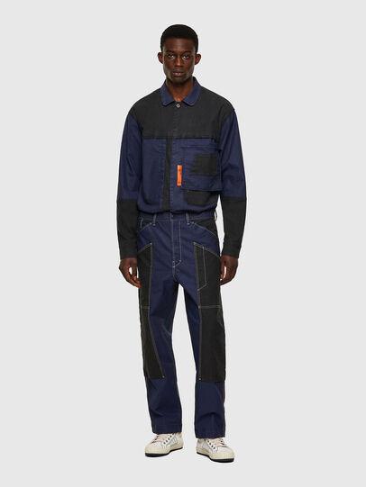 Diesel - D-Franky JoggJeans® 0EEAW, Blu Scuro - Jeans - Image 5