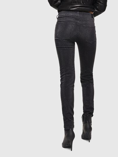Diesel - D-Ollies JoggJeans 0093H, Nero/Grigio scuro - Jeans - Image 2