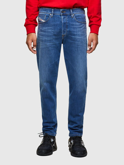 Diesel - D-Fining 09A80, Blu medio - Jeans - Image 1
