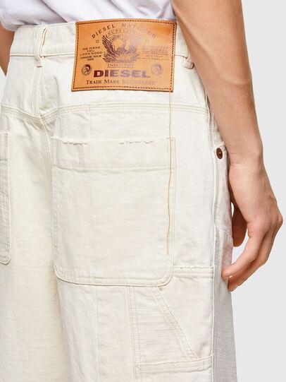 Diesel - D-FRANS-SP1, Bianco - Shorts - Image 4