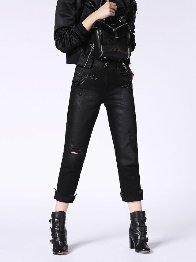 DE-CLAIRY, Nero Jeans