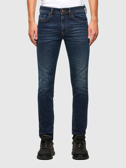 Diesel - Thommer 009MA, Blu Scuro - Jeans - Image 1
