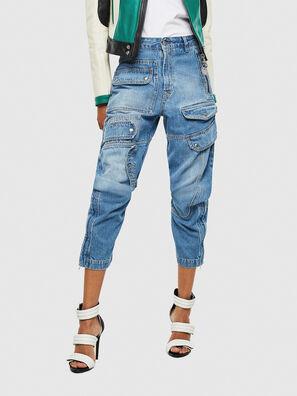 DE-MIRY, Blu Jeans - Pantaloni
