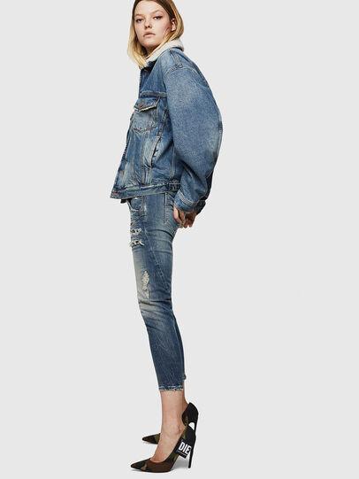 Diesel - Fayza JoggJeans 0890A, Blu Chiaro - Jeans - Image 3